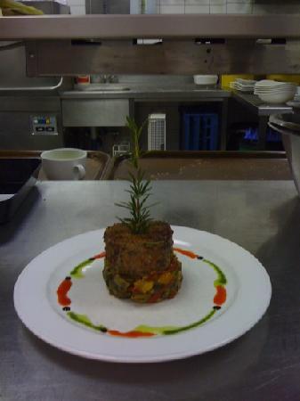 Figls: Steak mit Gemüse Ratatouille