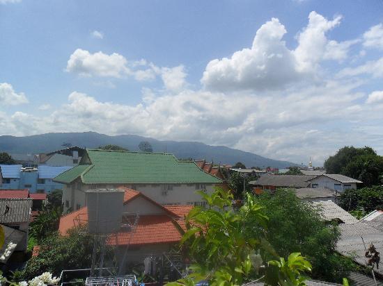 Malak Guest House: vue du roof top