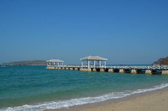 Ko Si Chang, Thaïlande : Summer Palace pier