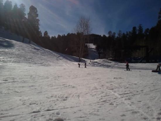 Mount Lemmon, AZ: View of Ski Slope (Intermediate Level)