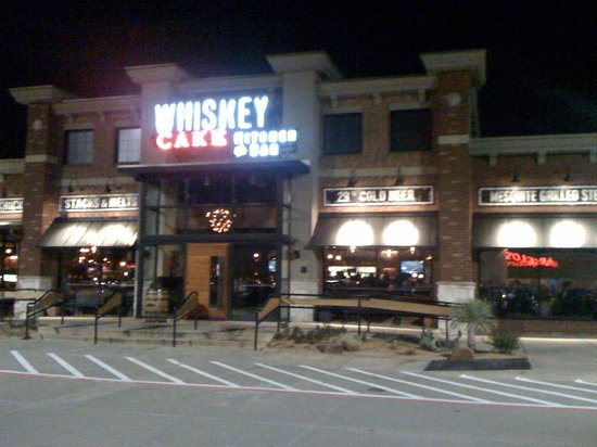 Happy Hour And Dinner Whiskey Cake Plano Traveller