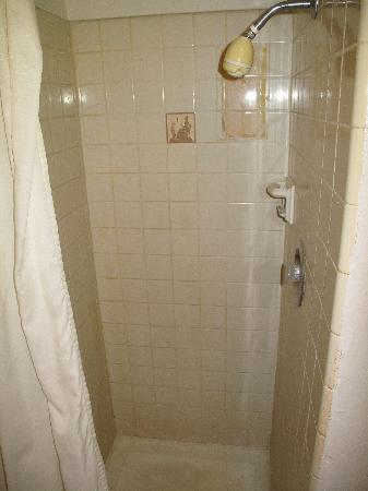 Spinning Wheel Motel: shower