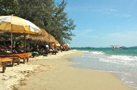 Otres Beach : La plage