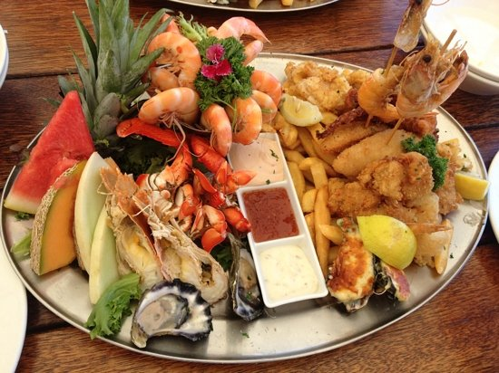 Amazing Seafood Platter For Two Picture Of The Lighthouse