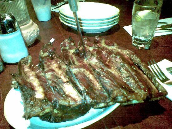 Cattleman's Steakhouse Indian Cliffs Ranch: Big beef ribs