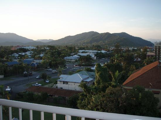 Acacia Court Hotel: view from balcony