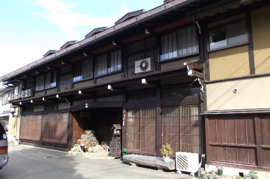 Sosuke: Outside of the hotel