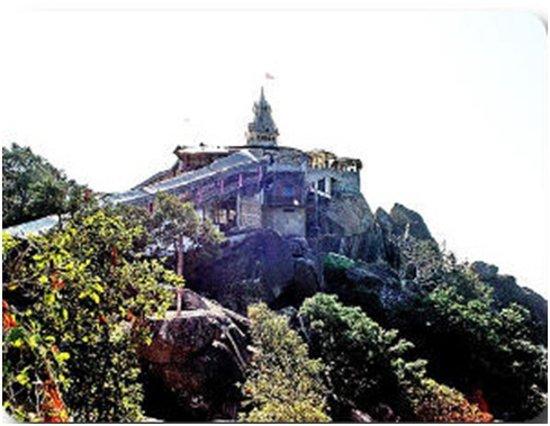 Rajnandgaon, Indien: Maa Bambleshwari Temple