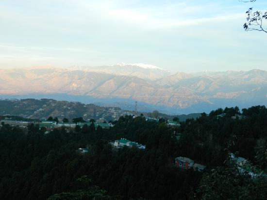 Dalhousie Palace Hotel: view from hotel top