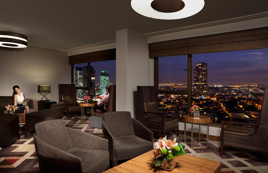 InterContinental David Tel Aviv: Club InterContinental Lounge- overlooking Neve Tzedek