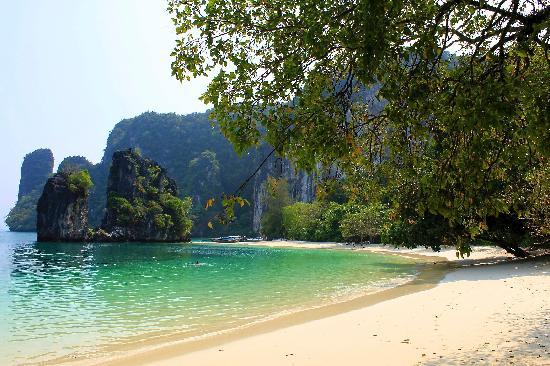 Esmeralda View Resort: Strand auf Koh Hong (mit dem Boot zu erreichen)