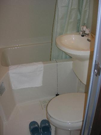 Matsubaya Inn: bathroom and toilets in your room