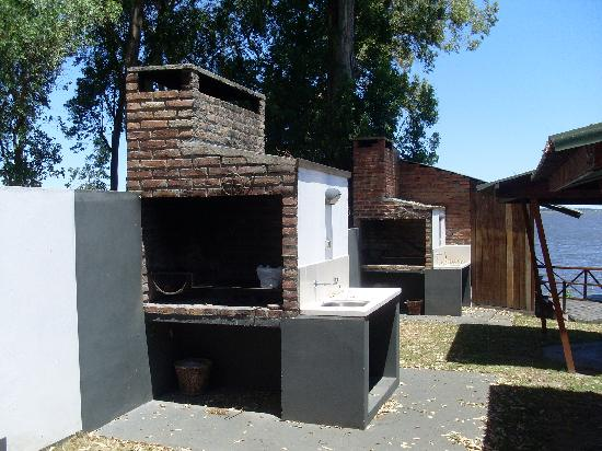 San Gregorio de Polanco, อุรุกวัย: BBQ area