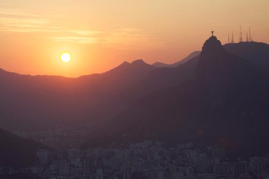 Pao de Acucar: Sunset at Sugar Loaf Mountain