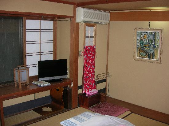 Ryokan Nakajimaya: the room