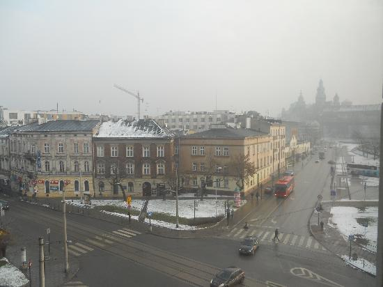 Kossak Hotel: View from our room