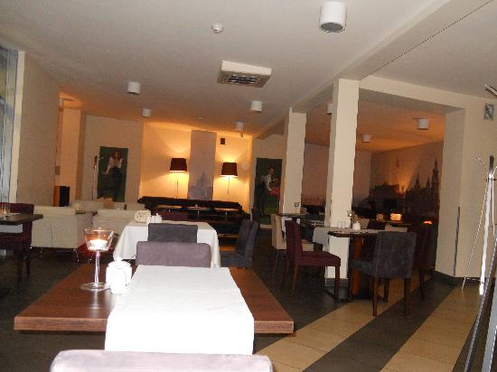 Kossak Hotel: Restaurant top floor