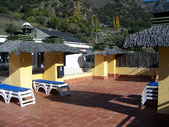 Hotel Andorra Center : terraza