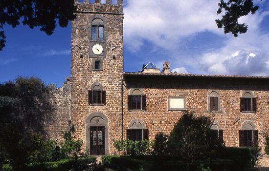 Castello di Querceto: Il Castello
