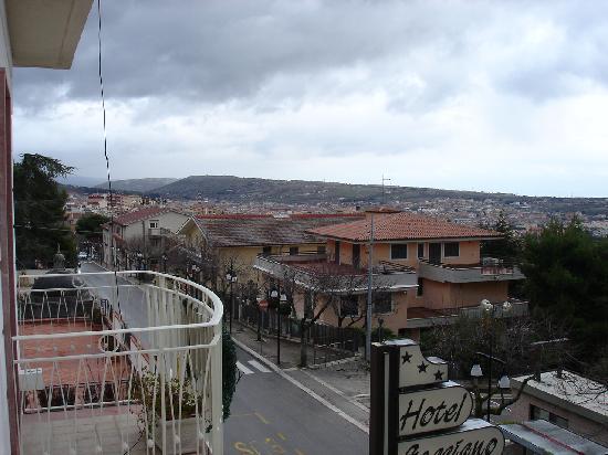 Hotel Gaggiano: Blick aus dem Zimmerfenster