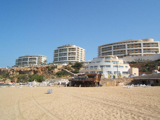 Radisson Blu Resort & Spa, Malta Golden Sands: the beautiful beach.