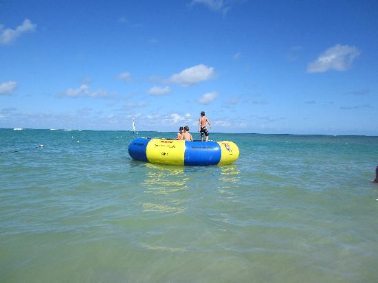 Dreams Punta Cana Resort & Spa: Sea Trampoline