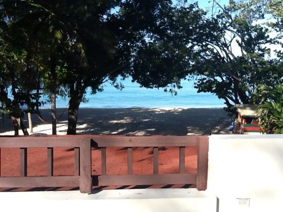 Nirvana on the Beach: view from the sundek