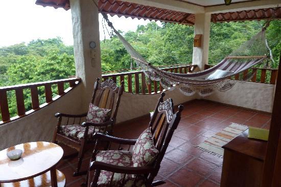 Villa Kristina Apartments: Balkon