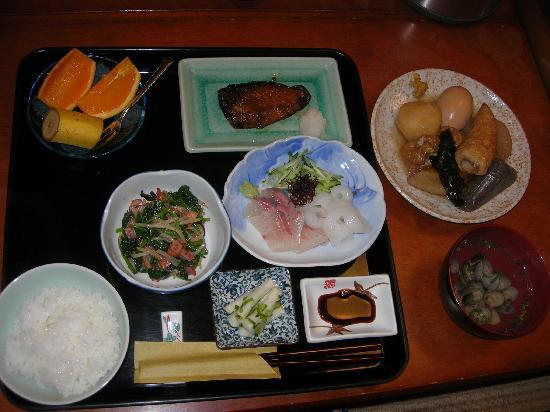 โรงแรมฟูจิวาระ เรียวคัง: part of the dinner