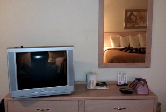 Quality Inn Tigard: TV area
