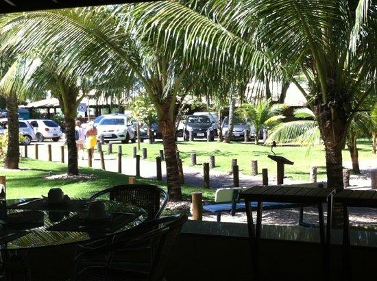 Hotel Eco Atlântico: vista da frente
