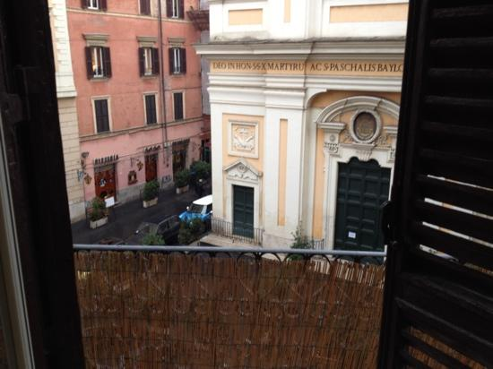 Trastevere Terrace Suites: view from terrace