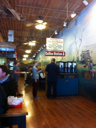 Java Ranch Espresso Bar & Cafe: great mural