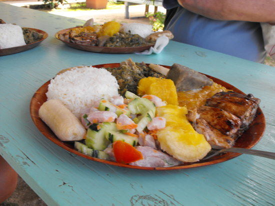Moorea, French Polynesia: The Plate