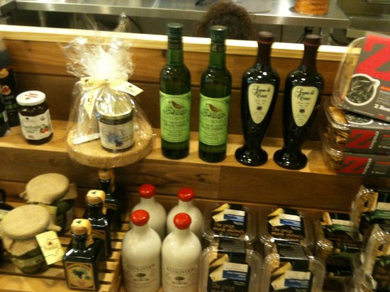 Cheese Culture: Olive Oil Display