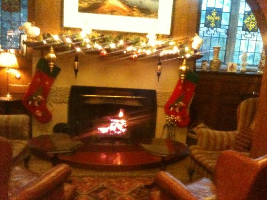 Cosy Fireplace - Picture of Holbeck Ghyll Country House ...