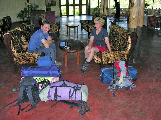 Colobus Mountain Lodge & Campsite : Lodge