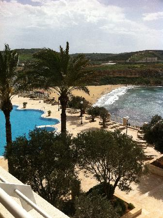 Radisson Blu Resort & Spa, Malta Golden Sands : Veiw from Balcony