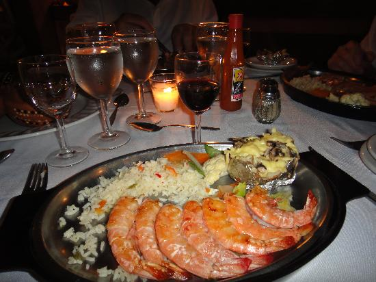 Decameron Los Cocos: LaBamba - 3 different types of Shrimp dinners now