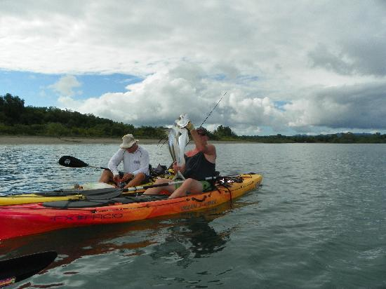 Costa Rica Kayak Fishing - Day Tours: Took him for a ride.