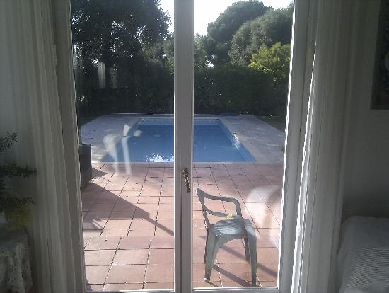 La Muserie: La veranda e la piscina
