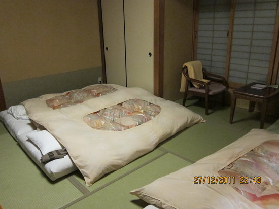Hokkaikan Ohanabo: Room after bed was made