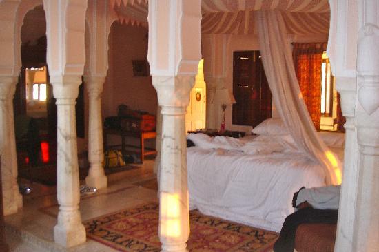 Samode Palace : il baldacchino