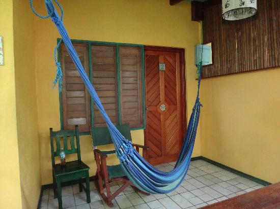 Hotel Guarana: porch