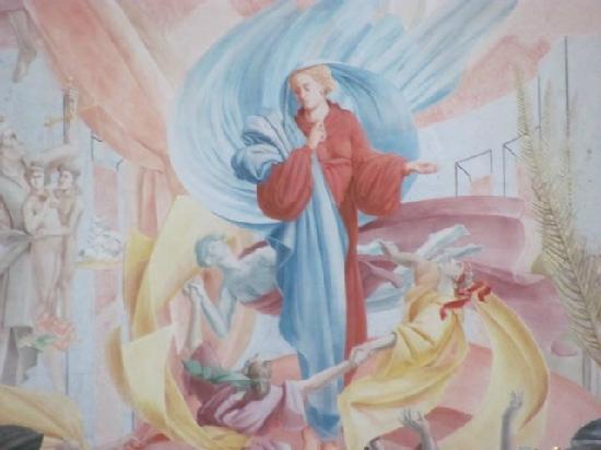Karmelitenkirche St. Joseph und St. Maria Magdalena: mural