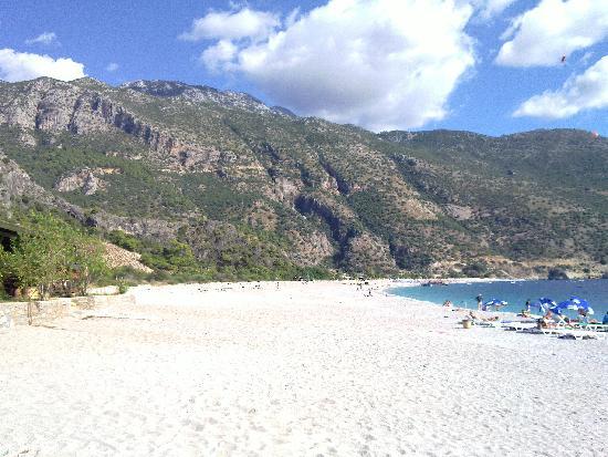 Plage d'Oludeniz (Lagon bleu) : Strand