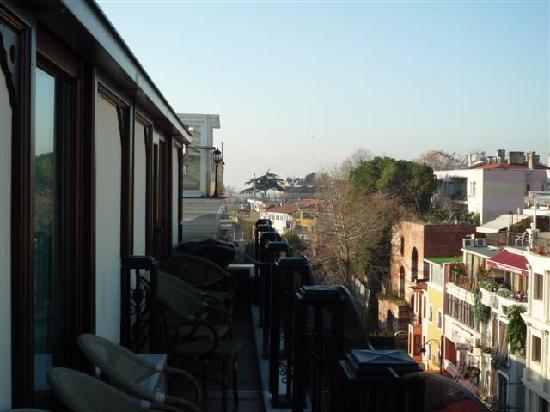 GLK PREMIER Acropol Suites & Spa: balcon