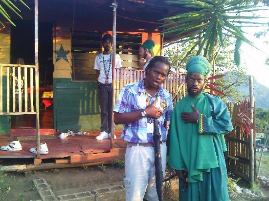 Know Jamaica Tours: Javia and high priest