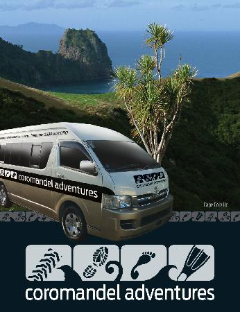 Coromandel Adventures - Day Tours : Delivering the best transport and tours on the Coromandel