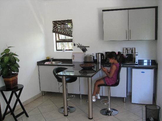 Auszeit: Küche, die auch als Spielzimmer benutzt wird.....